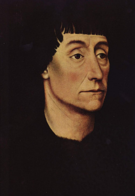 Rogier van der Weyden. Portrait of Pierre de Bereman
