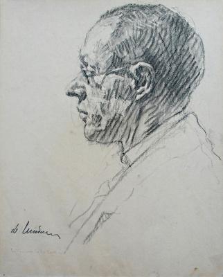 Дамиан Васильевич Шибнев. Portrait of Sergei Nikolaevich Amosov
