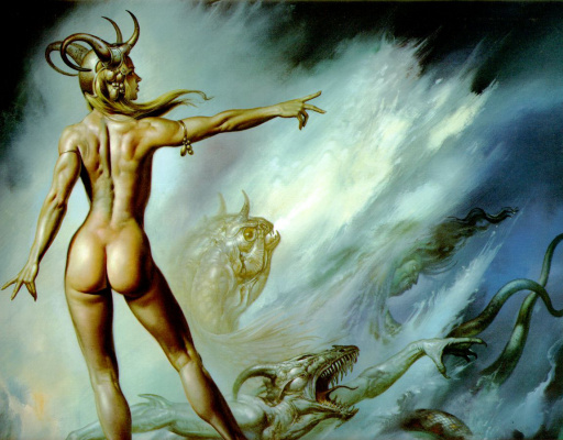 Boris Vallejo (Valeggio). Away