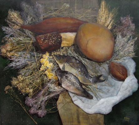 Полина Кузнецова. Рыба и хлеб (fish and bread)