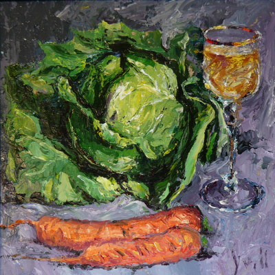 Yuri Leonardovich Uzhdavini. Wine cabbage carrots!