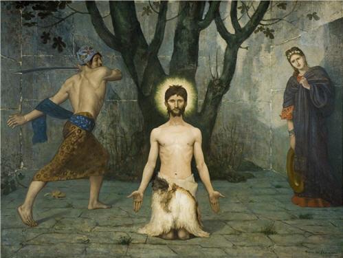 Pierre Cecil Puvi de Chavannes. The beheading of St. John the Baptist