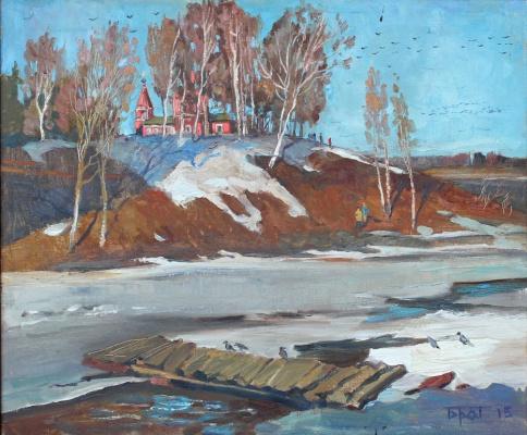 Антон Александрович Братыкин 1980г.р. Весенний мостик