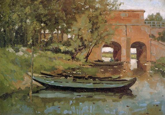 Виллем Толен. Мост и шлюз