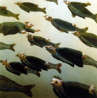 Михаэль Сова. Школа рыбы