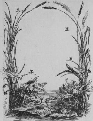 Шарль-Франсуа Добиньи. Серия Альбом путешествия в лодке, Фронтиспис без текста