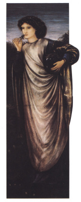 Edward Coley Burne-Jones. Morgana le fay