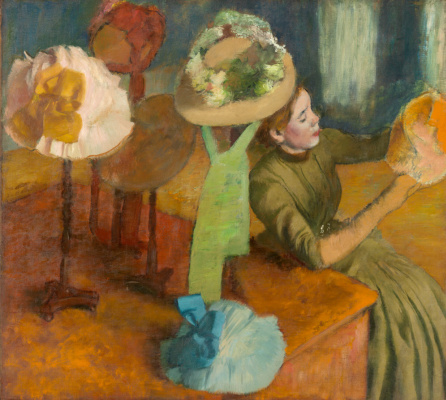Edgar Degas. Ladies ' shop