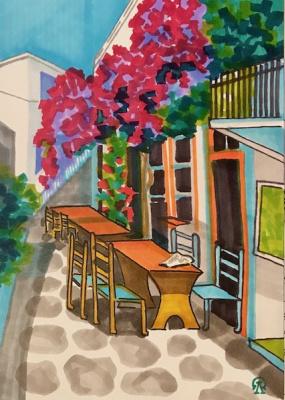 Larissa Lucania. Greek street