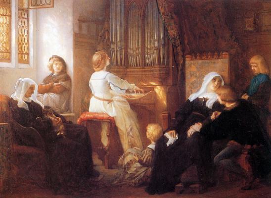 Alexandre Cabanel. Widow