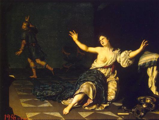 Виллем ван Мирис. Целомудрие Иосифа