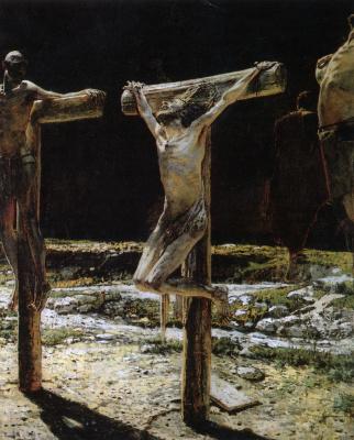 Nikolai Nikolaevich Ge. The crucifixion