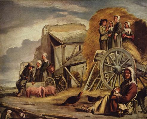 Louis Lenen. Peasant cart