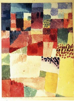 Paul Klee. City Hammamet in Tunisia