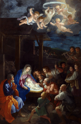 Guido Reni. The adoration of the shepherds