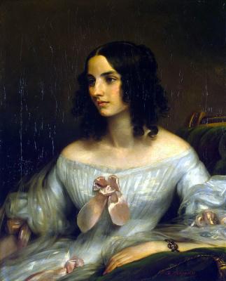 Eduard Magnus. Portrait Senden