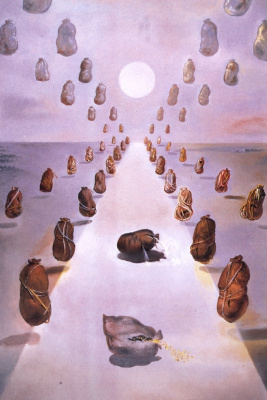 Salvador Dali. The path of the mysteries