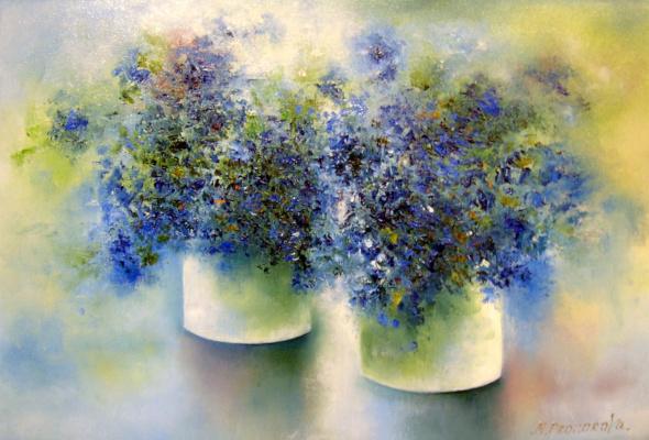 Margarita Eduardovna Prozorova. Two bouquets