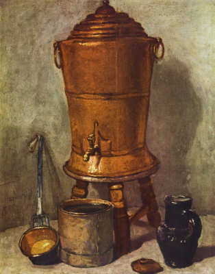 Жан Батист Симеон Шарден. Медный бак для воды