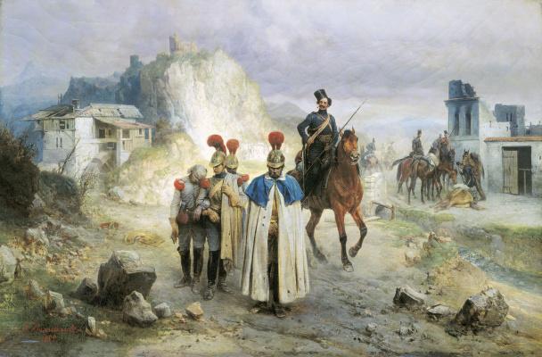 Bogdan Pavlovich Willewalde. They were captured in 1814. 1885