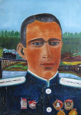 Vasily Vasilyevich Plastinin. Self-portrait.