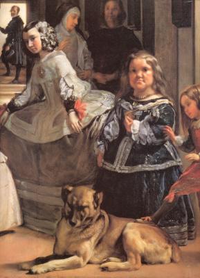 Diego Velazquez. Las Meninas (fragment)