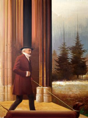 Igor Mikhailovich Gusev. In search of snowdrops