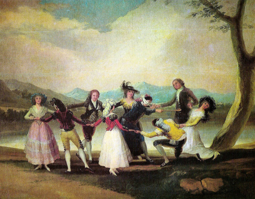 Francisco Goya. Blind Man's Bluff