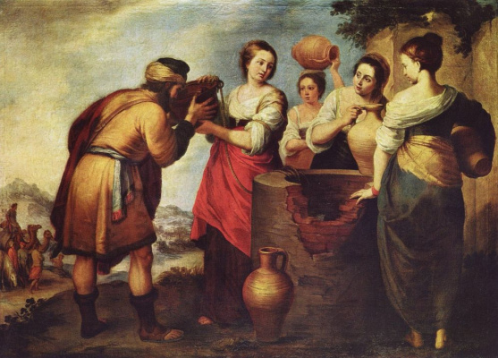 Bartolomé Esteban Murillo. Rebecca and Eleazar