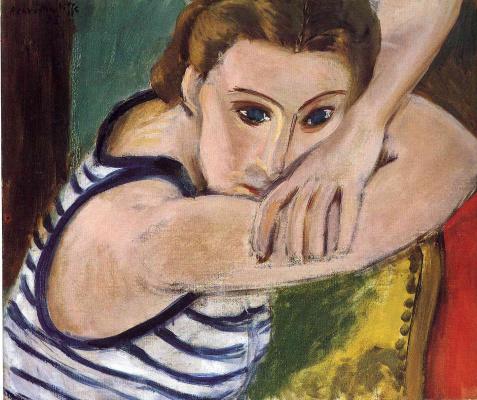 Henri Matisse. Blue eyes