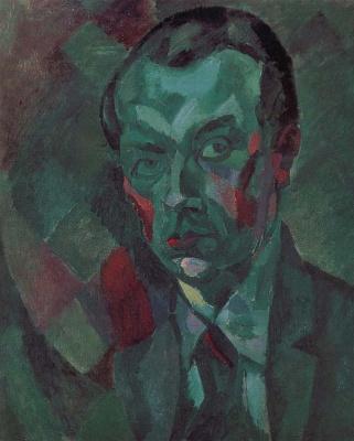 Robert Delaunay. Self-portrait