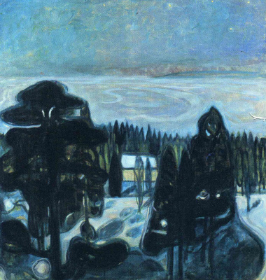 Edvard Munch. White night