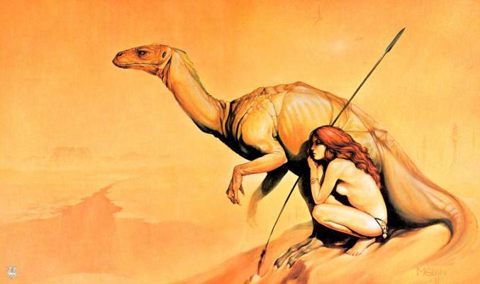 Мэлвин Грант. Пустынный динозавр