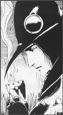 Yoshitaka Amano. The man in the hat
