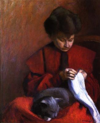 Albert Marquet. Portrait of a mother