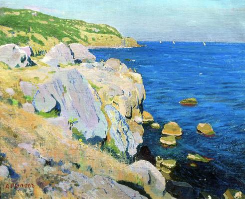 Arkady Alexandrovich Rylov. Rocks in Kekeneiz