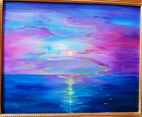 Марина Гарник. Восход луны