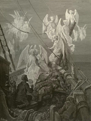 Paul Gustave Dore. The rime of the ancient Mariner. Plot 23