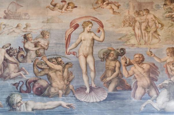 Giorgio Vasari. The Birth Of Venus