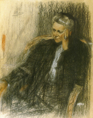 Alexander Murashko. Portrait Of Sophia Grigorievna Philipson