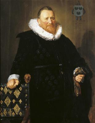 France Hals. Portrait of Nicolas van der Meer
