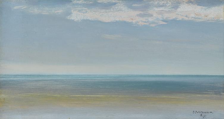 Иван Павлович Похитонов. La Panne. Sea