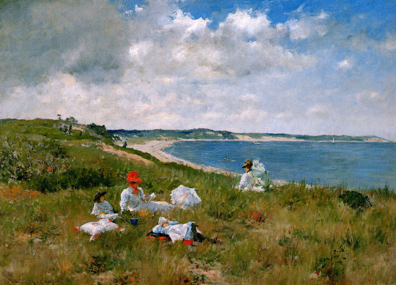 William Merritt Chase. Idle hours
