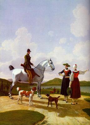 Вильгельм Александр Вольфганг фон Кобелль. Всадник на белом коне