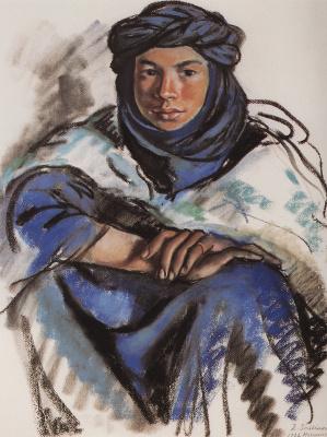 Zinaida Serebryakova. Moroccan blue
