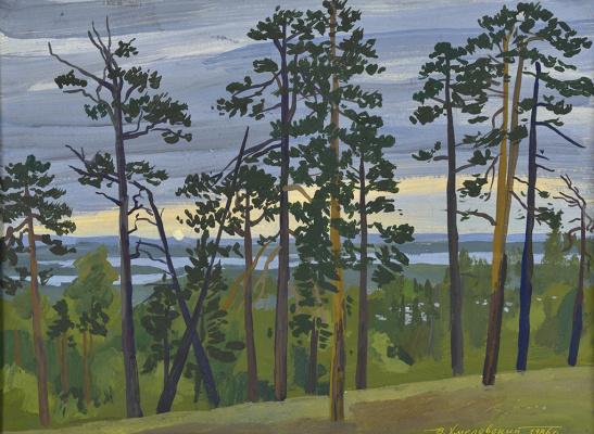 Vladimir Iosifovich Khmelevsky. Getting dark
