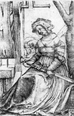 Альбрехт Альтдорфер. Святая Екатерина