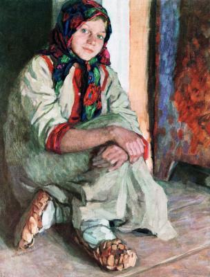 Nikolay Petrovich Bogdanov-Belsky. Girl