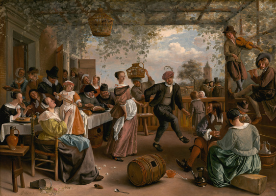 Jan Steen. Dancing couple