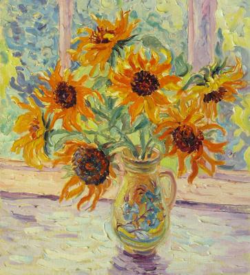 Alexey Vladimirovich Konstantinov. Sunflowers